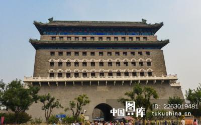 北京城楼矢量图