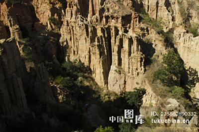 楚雄元谋土林物茂土林风景区(老虎滩土林)