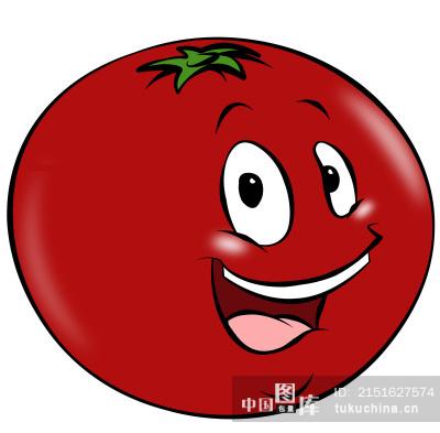 卡通番茄 图片