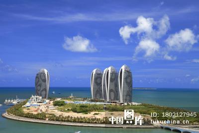 海南三亚凤凰岛建筑